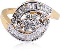 Jisha Romance Collection 14kt Diamond Yellow Gold ring
