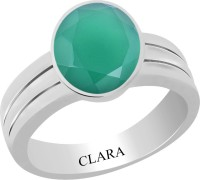 CLARA Certified Haqiq 8.3 cts or 9.25 ratti Stunning Sterling Silver Onyx Ring