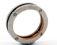 the jewelbox Tungsten Gold Plated Ring