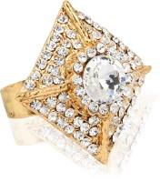 Moedbuille Alloy Cubic Zirconia Ring