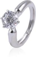 Jisha Sterling Silver Cubic Zirconia Ring