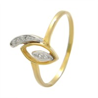 Popleys 18kt Diamond Yellow Gold ring