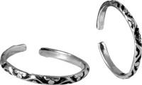 abhooshan Sterling Silver Toe Ring Set