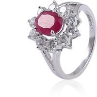 Jisha Romance Collection 18kt Diamond, Ruby Yellow Gold ring