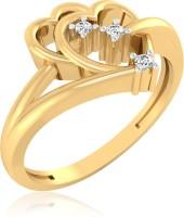 IskiUski Solitaire Chain Link 14kt Diamond Yellow Gold ring