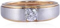 Jisha Men's Love Band 14kt Diamond Yellow Gold ring