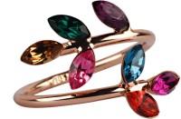 Aaishwarya Alloy Crystal Ring