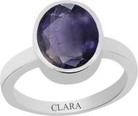 CLARA Certified Neeli 8.3 cts or 9.25 ratti Elegant Sterling Silver Ring