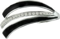 Aastha Jain Sterling Silver Cubic Zirconia Ring