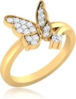 IskiUski Anara Butterfly 14kt Diamond Yellow Gold ring