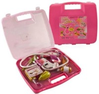 Little Grin My Family Battery Operated Doctor Set 8 PCS Kit With Lights & Music For Kids