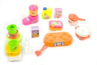 Shree Natkhat Multicolor Virgin Plastic Medium Kitchen Set