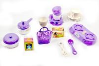 Shree Natkhat purple color virgin plastic kitchen set