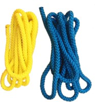 Sahni Sports Pro PP Jump Rope Blue, Yellow(Length: 3000 m, Diameter: 10 mm)