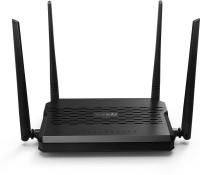 TENDA D-305 300 Mbps Router(Black, White, Single Band)