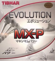 Tibhar Evolution Mx-P 2.1 mm Table Tennis Rubber(Red)