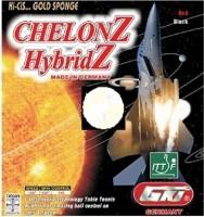 GKI Hi-Cis Chelonz Hybridz Max Table Tennis Rubber(Black)