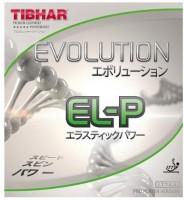 Tibhar Evolution EL-P 11.3 mm Table Tennis Rubber(Black)