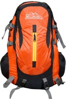Himalayan Adventures HA-8102 Rucksack - 40 L(Orange)