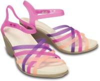 Crocs Women Pink Heels