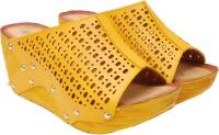 iLO Women Yellow Wedges