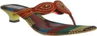 FAITH 1000128 Women Maroon Heels