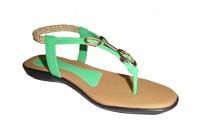 Om Overseas Girls Sports Sandals(Green)