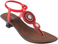Metro Women 18,Red. Heels