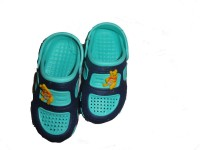 Pu Assma Boys Clogs(Green)