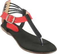 ZACHHO Women Red Flats
