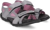 Reebok Women FLAT GREYPINKGRAVEL Sports Sandals