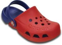 Crocs Boys & Girls Sling Back Clogs(Red)