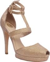 iLO Women Gold Heels