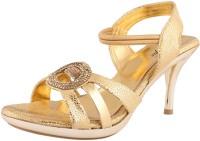 Exotique Women Gold Heels