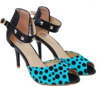 iLO Women Blue Heels