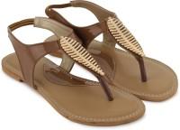Shezone Women Tan Flats