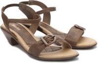 Bata Women Brown Heels