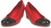 Crocs Women Red Wedges