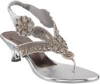 Metro Women 27,Silver Heels