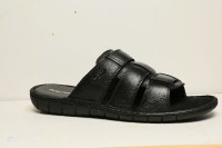 Hush Puppies Men Black Sports Sandals