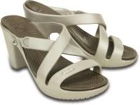 Crocs Women Grey Heels