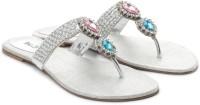 Inc.5 Women Women Silver Flats