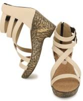 Naisha Women 5,White Heels