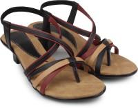 Ortan Girls Sports Sandals(Black)