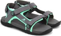 Adidas Women VISGREICEGRNBLACK Sports Sandals