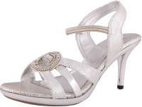 Exotique Women Silver Heels