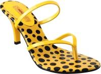 Mochi Women 33, Yellow Heels