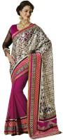 Bahubali Sarees Self Design Fashion Silk Saree(Pink)