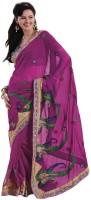 Bahubali Sarees Self Design Fashion Georgette Saree(Pink)