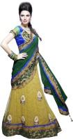 MAHOTSAV Self Design Fashion Cotton Blend, Art Silk Saree(Multicolor)